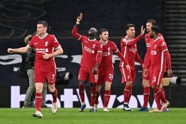 Liverpool supera o Tottenham