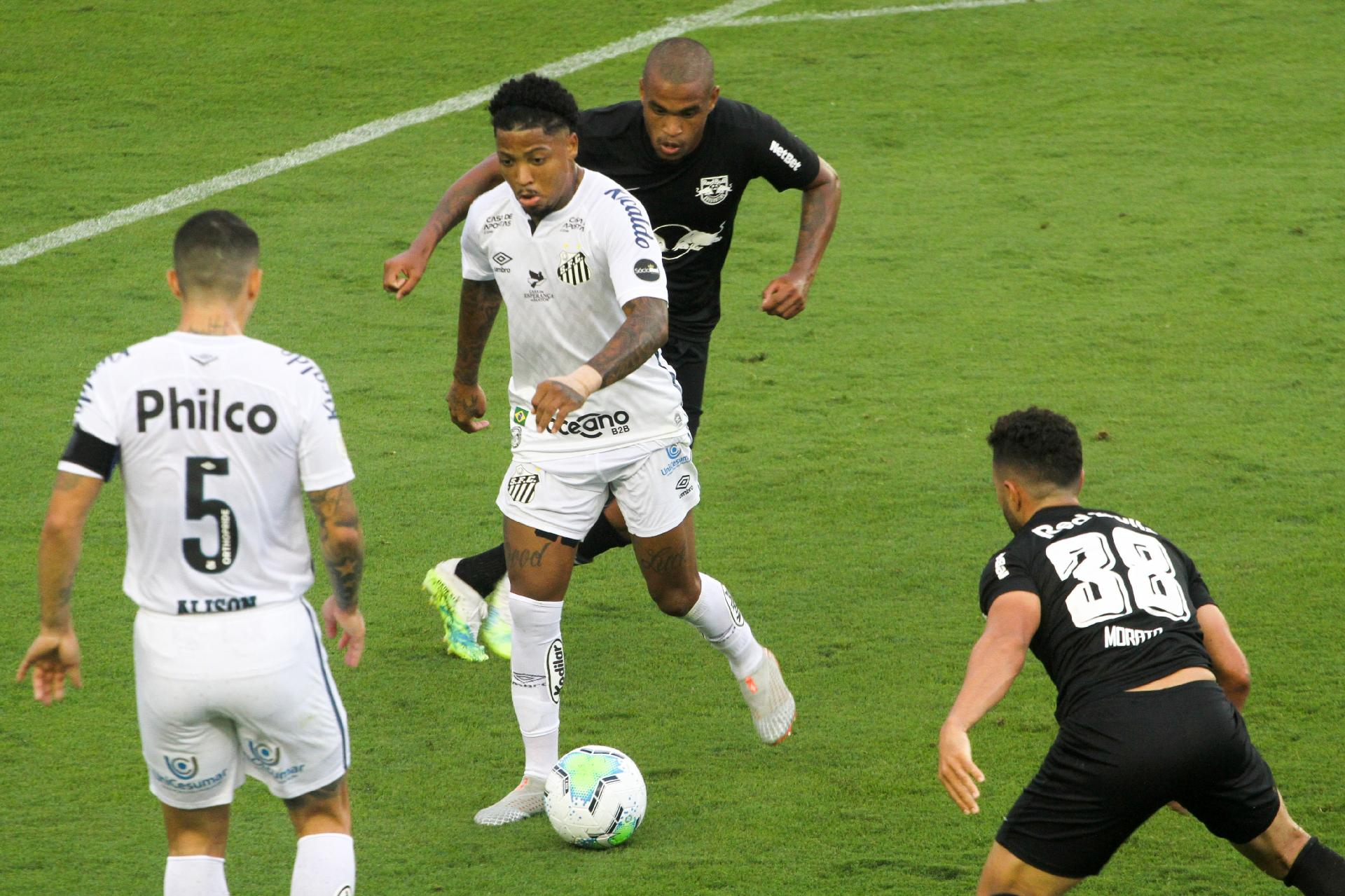 Red Bull Bragantino vs Santos