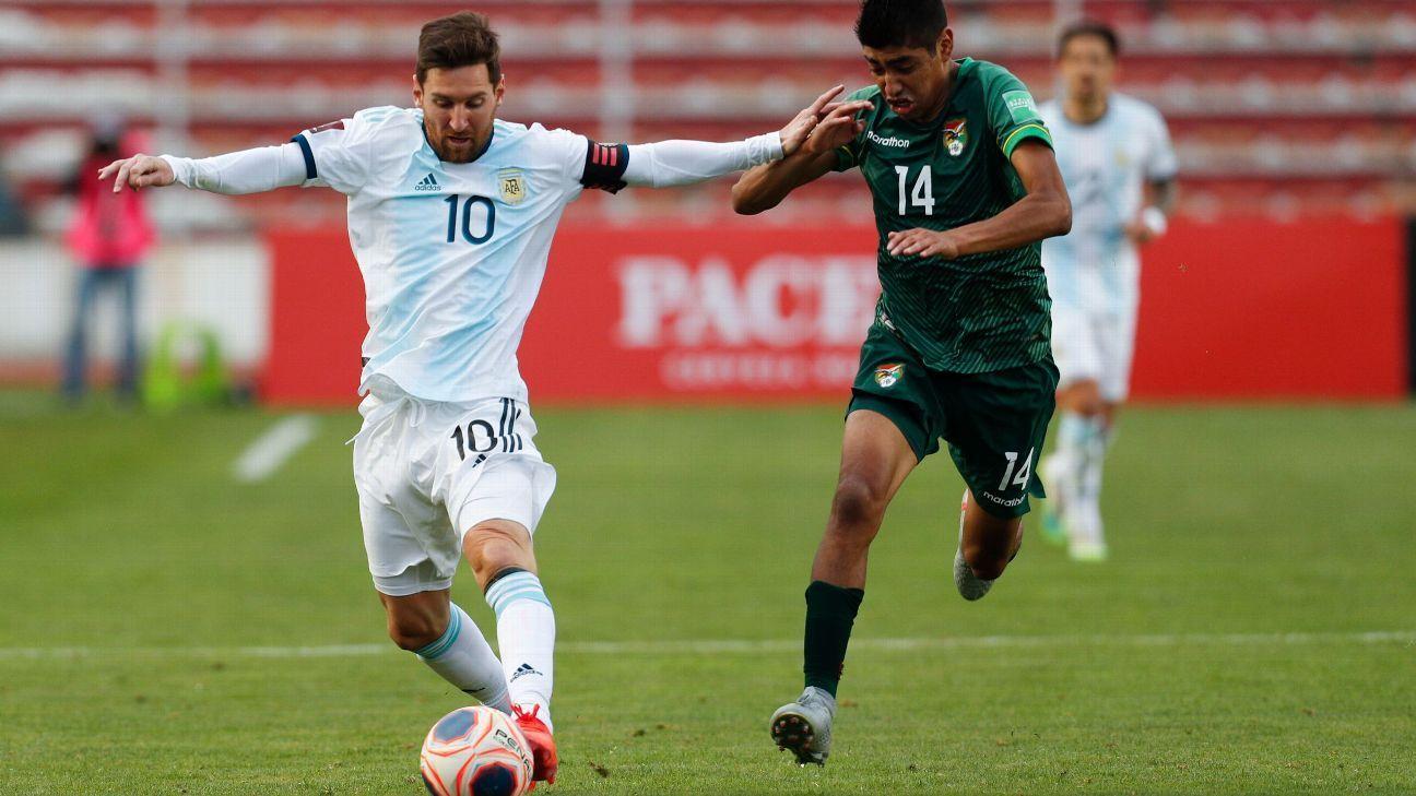 Bolívia vs Argentina