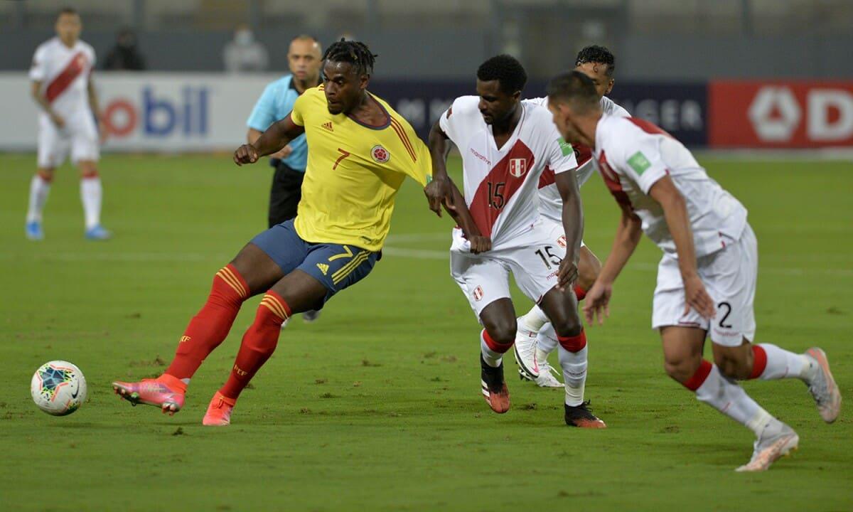 Colômbia vs Peru