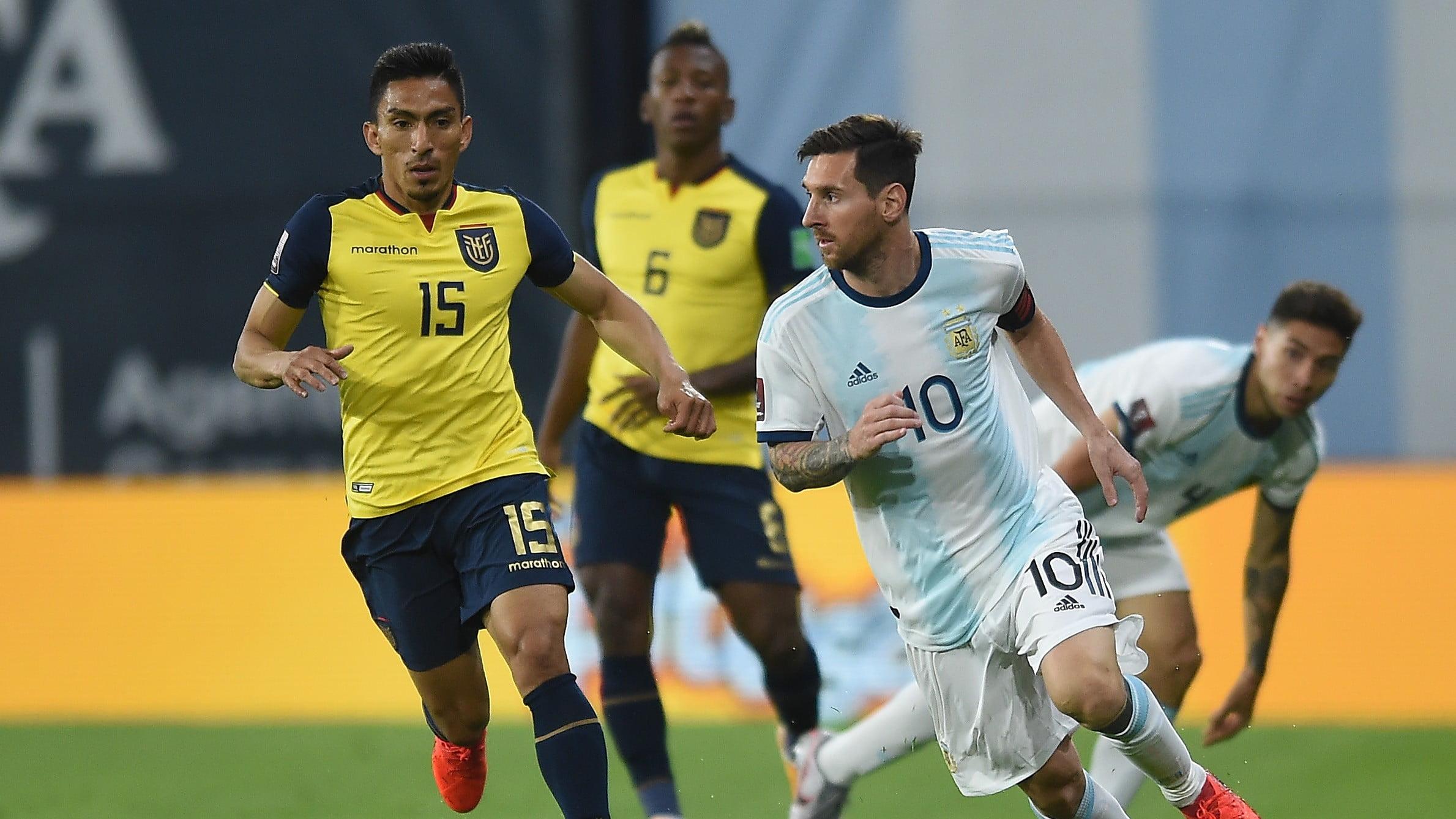 Argentina vs Equador