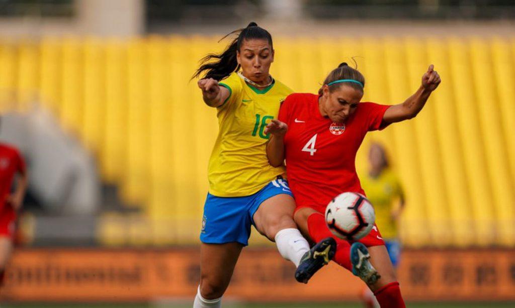Brasil Feminino vs Canadá Feminino