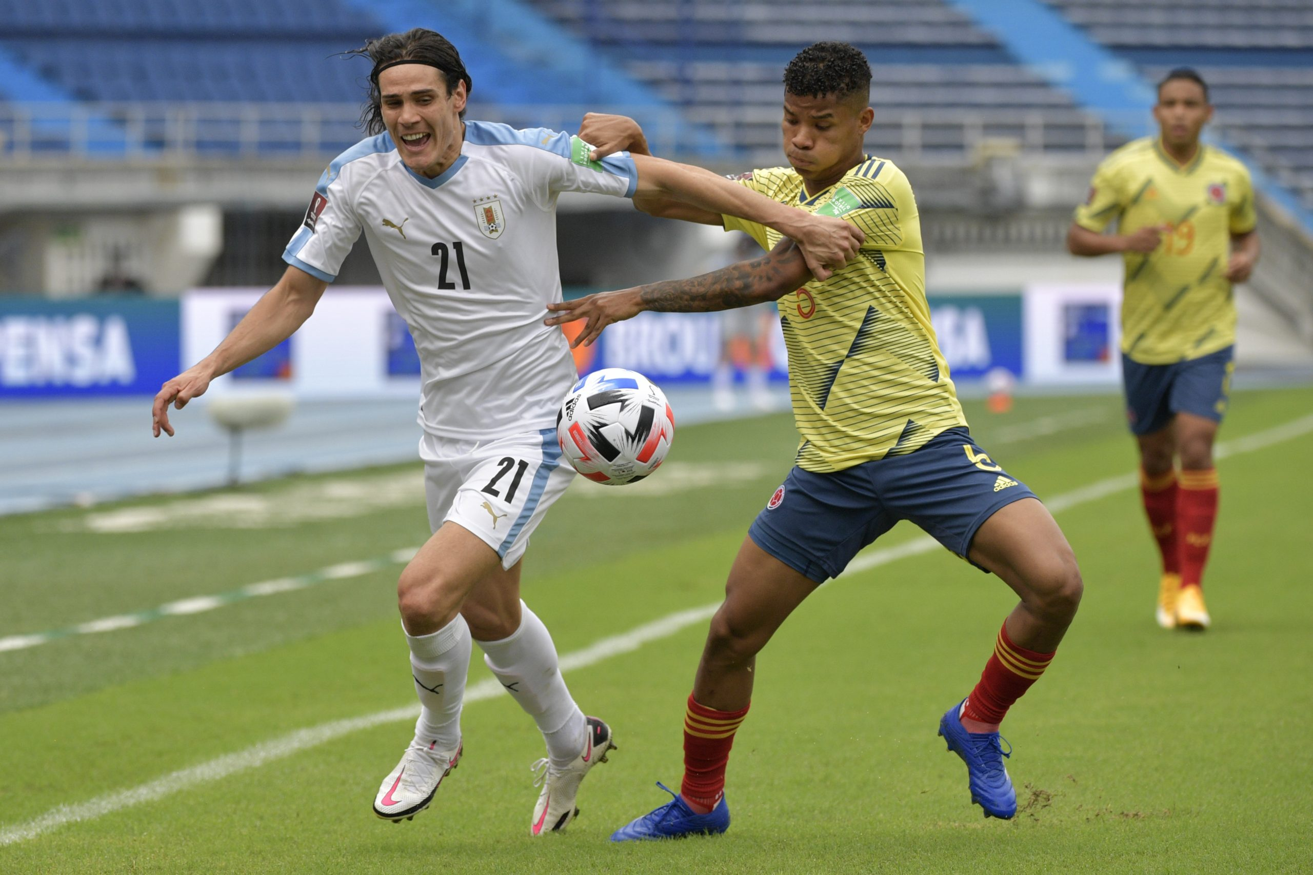 Uruguai vs Colômbia