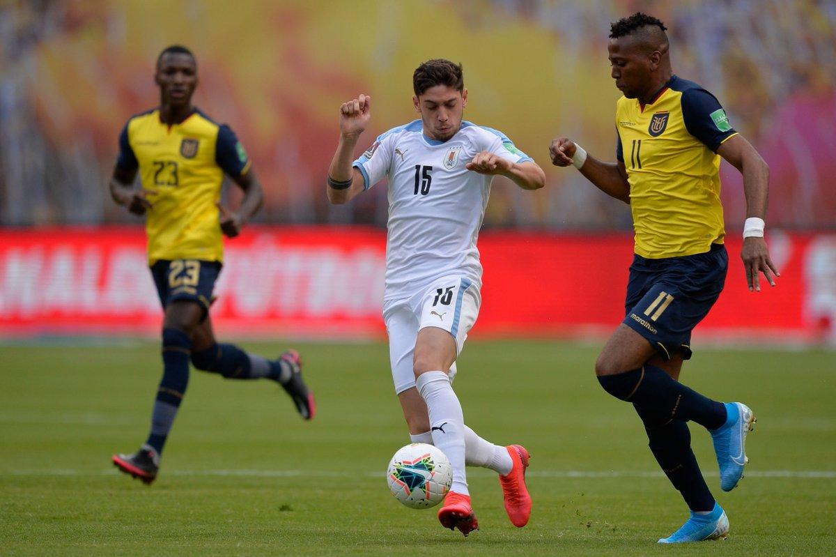 Uruguai vs Equador