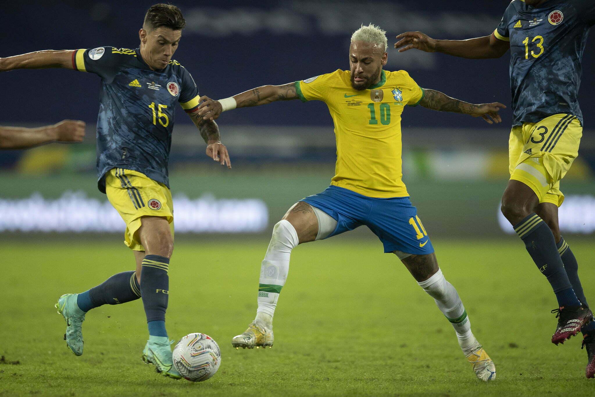 Colômbia vs Brasil