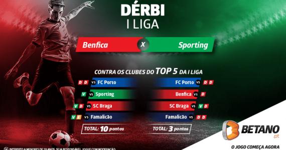 Dérbi Benfica vs Sporting