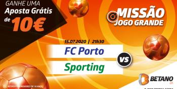 Missão FC Porto vs Sporting