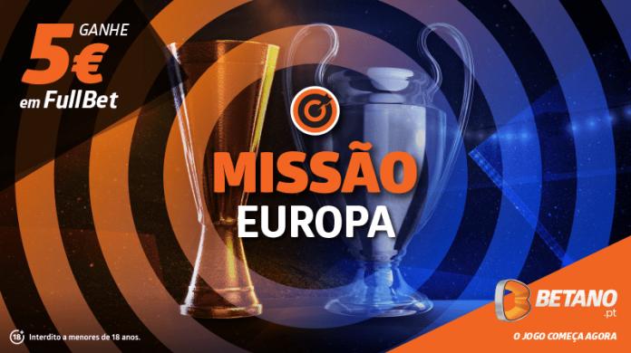 Jornada Europeia com Missão e FullBet