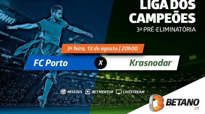 FC Porto vs Krasnodar