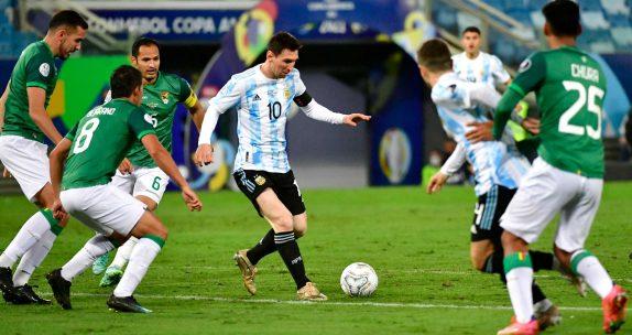 Argentina vs Bolívia