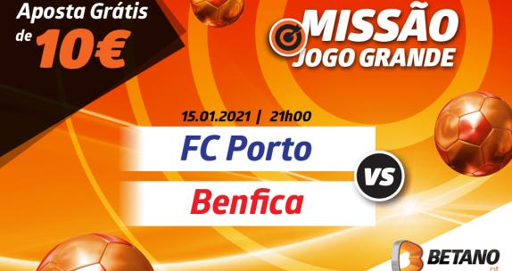 Missão Jogo Grande Porto vs Benfica