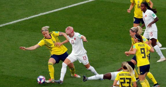 Suécia Feminino vs Canadá Feminino